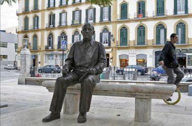 Picasso Estatua en Málaga