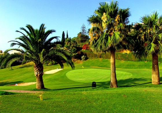 campo golf candado