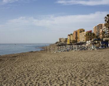 Typical beach Spain